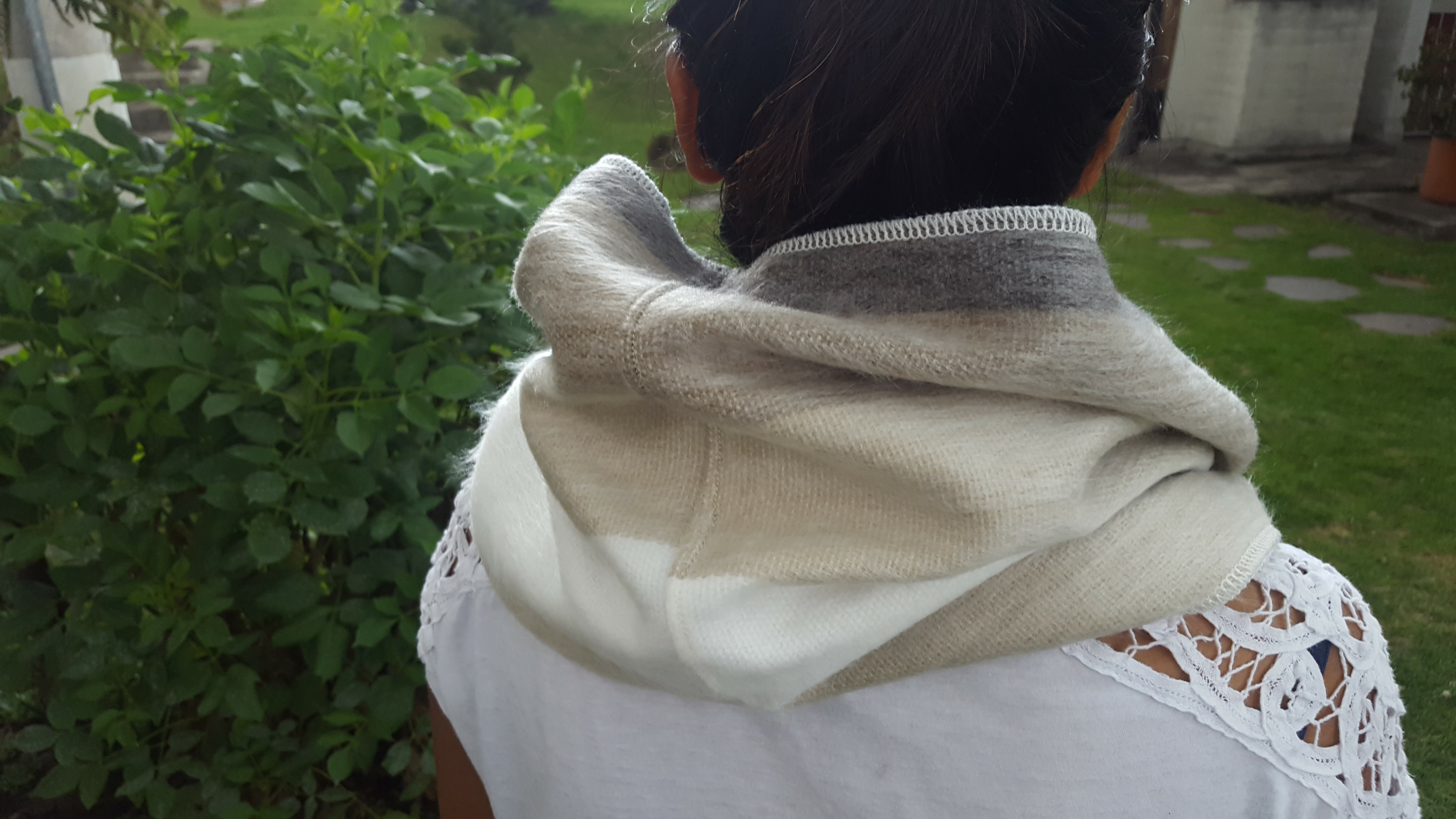 scarf bags avo grey infinity earth organic whale product