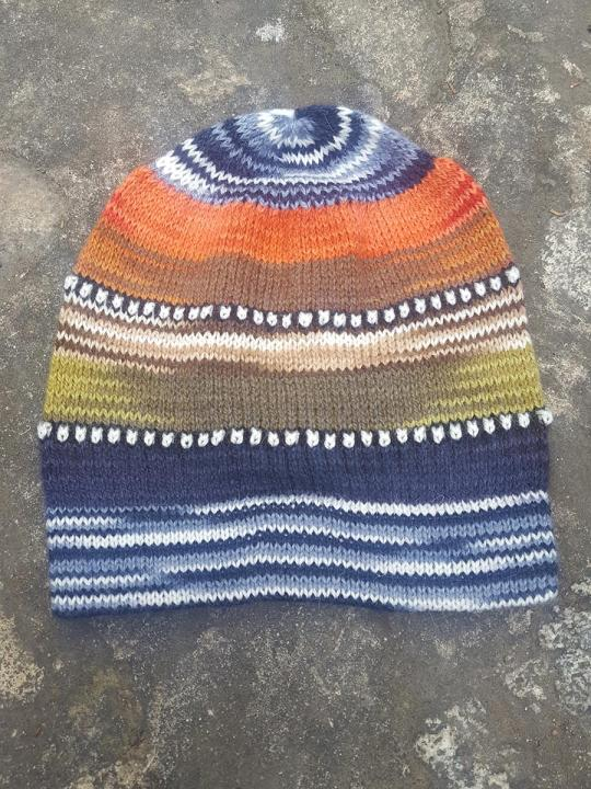 Beanie Stripes Blue