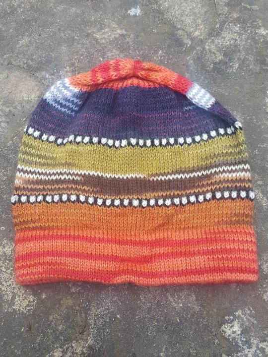 Beanie Stripes Orange