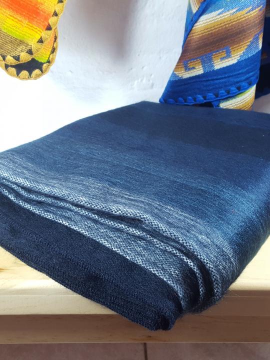 Alpaca Blanket Shutter Dark Blue