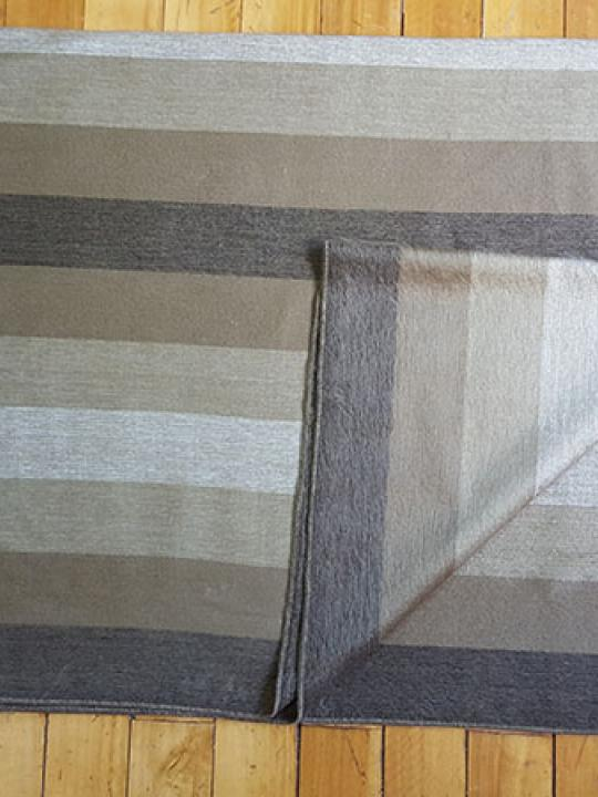 Alpaca Blanket Shutter Brown