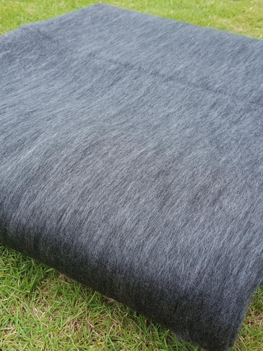 Alpaca Blanket/Throw Gray