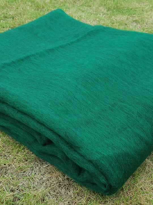 Alpaca Blanket/Throw Green
