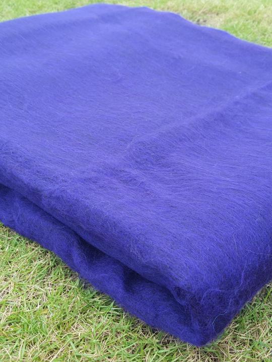 Alpaca BlanketThrow Purple