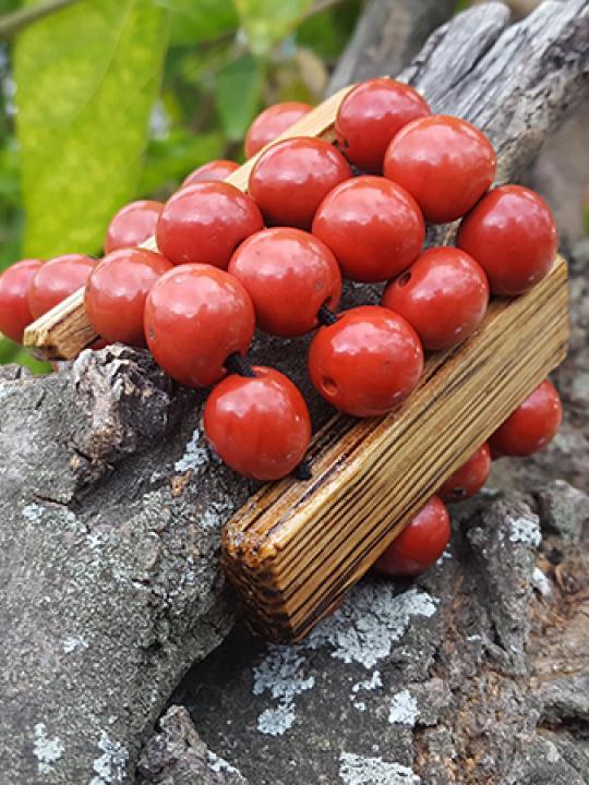 Bracelet Pambil-Chonta Cherry