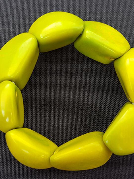 Bracelet Tagua Lime