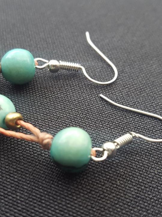 Earrings Acai Aqua