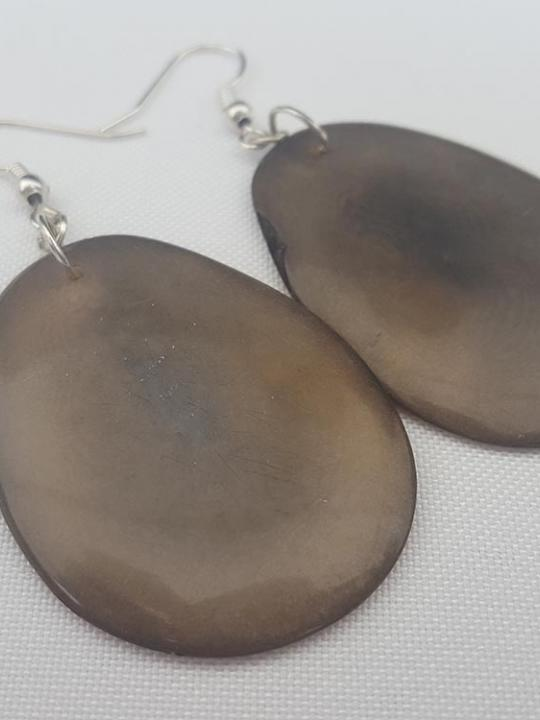 Earrings Tagua Earth