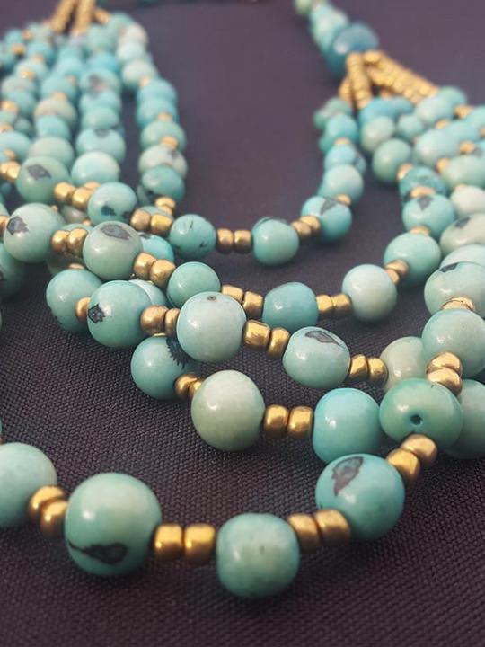 Necklace Acai Aqua