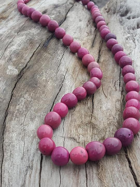 Necklace Pambil Purple Shade