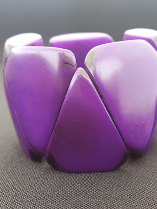 Bracelet Tagua Grape