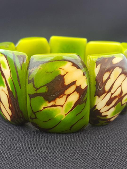 Bracelet Tagua Green Earth