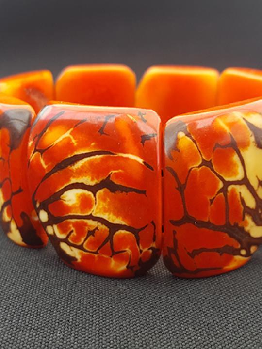 Bracelet Tagua Red Sierra