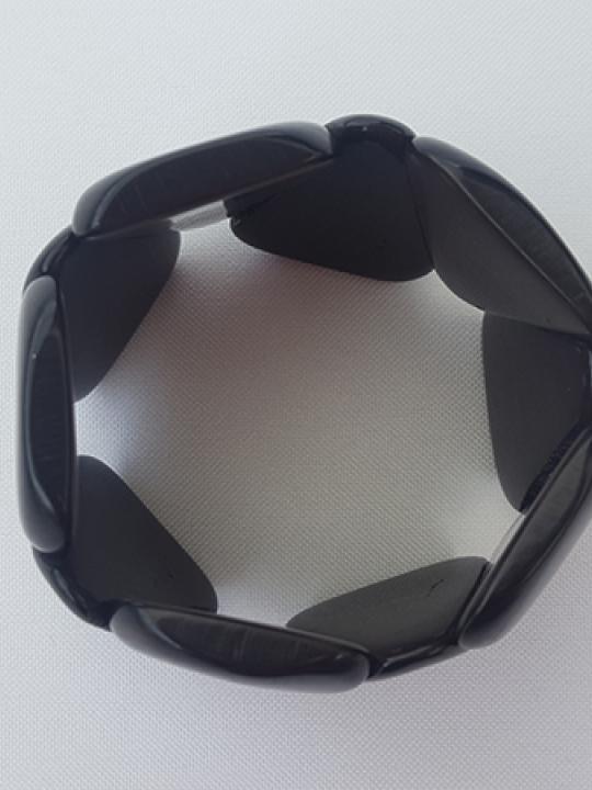 Bracelet Tagua Sky Black