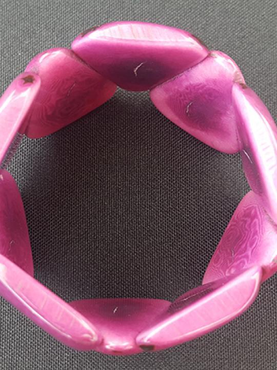 Bracelet Tagua Violet